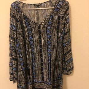 Summer printed dress